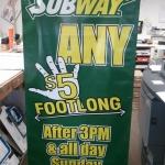 Subway Banner
